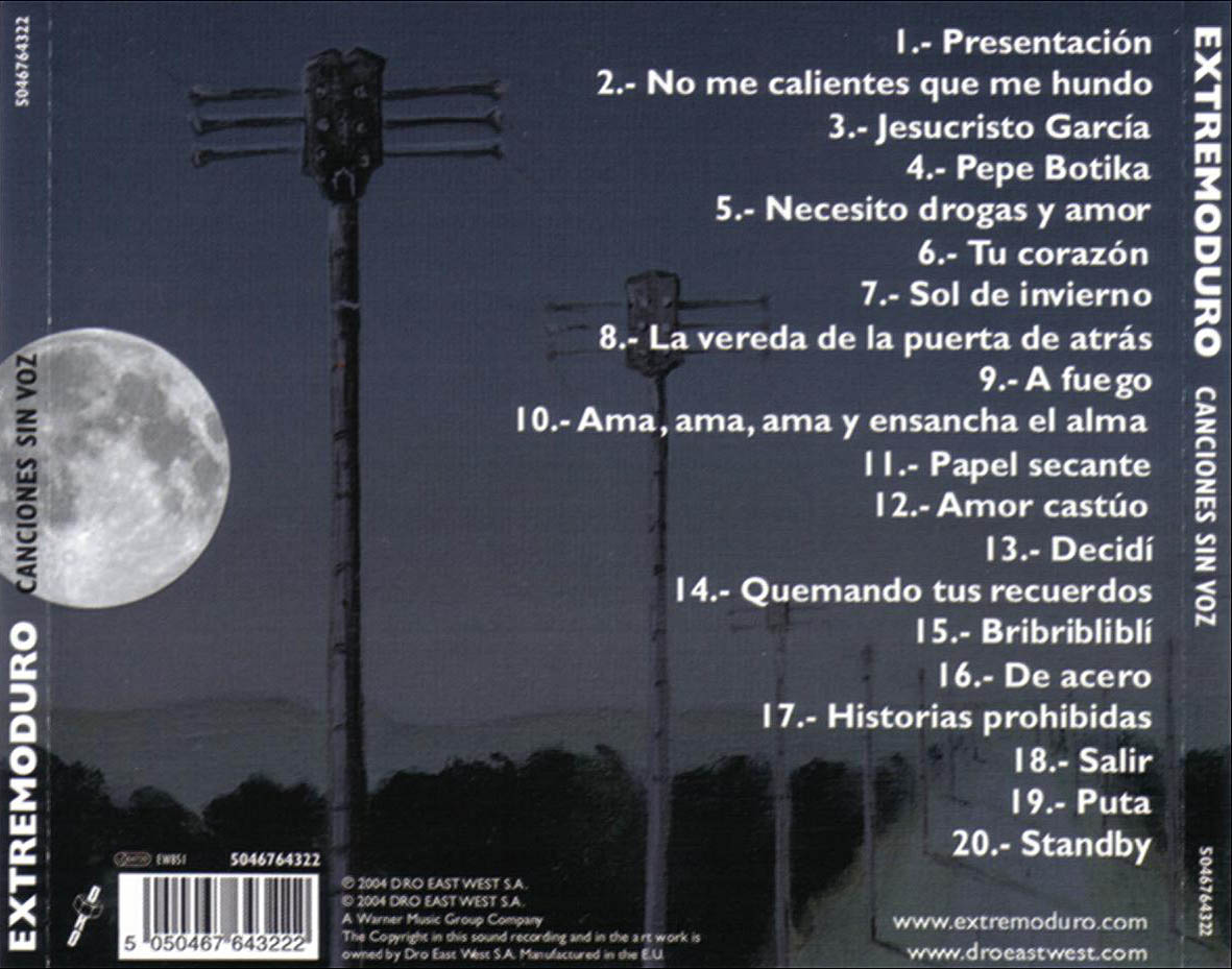 links de canciones: